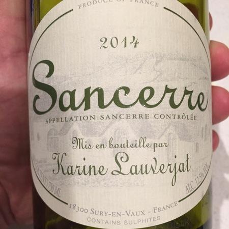 Christian Lauverjat Sancerre Blanc 2016