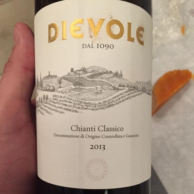 Chianti Classico Sangiovese 2013