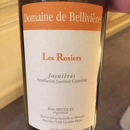 Domaine de Bellivière (Eric Nicolas) Les Rosiers Jasnières Chenin Blanc 2015