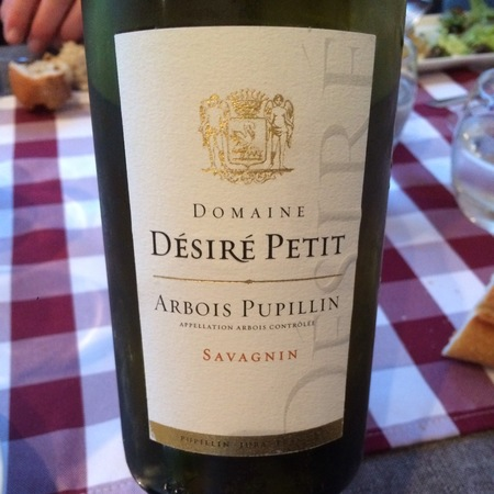 Desire Petit et Fils Arbois Pupillin Savagnin 2014