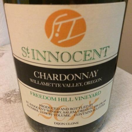 St Innocent Winery Freedom Hill Vineyard Chardonnay 2015