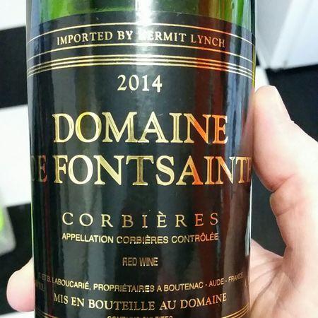 Domaine de Fontsainte Corbières Grenache Blend  2014