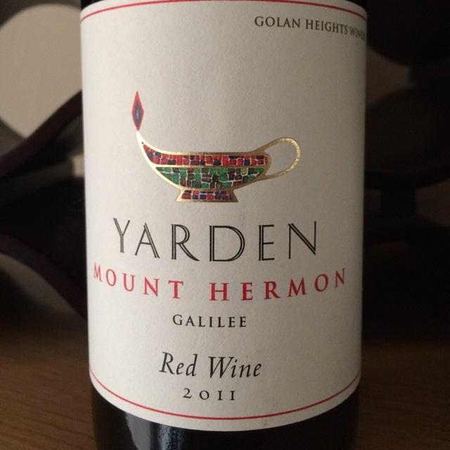 Yarden Mount Hermon Red Blend 2014