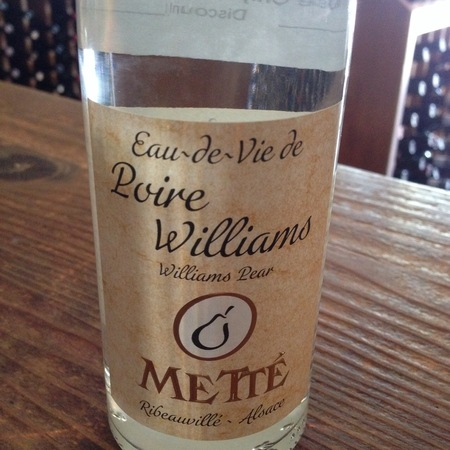 Metté  Eau-de-Vie Poire Williams NV (375ml)