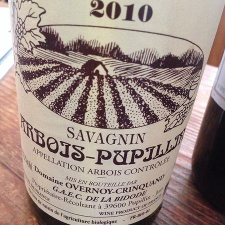 Overnoy-Crinquand Arbois Pupillin Savagnin NV
