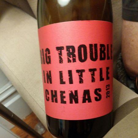 Clos des vignes du Maynes Big Trouble in Little Chenas Beaujolais Gamay 2015