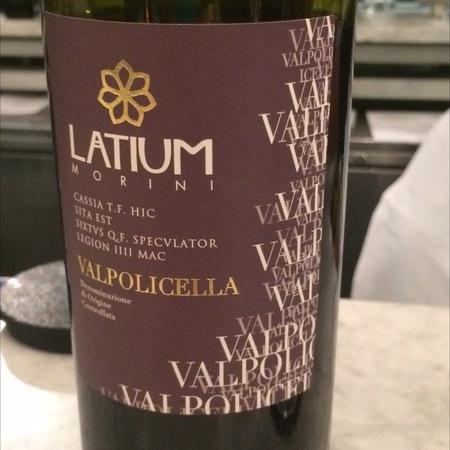 Latium Morini Valpolicella Corvina Blend 2016