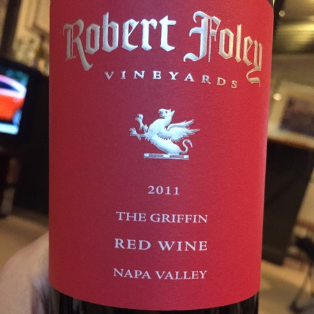 Robert Foley Vineyards The Griffin Napa Valley Merlot Blend 2014