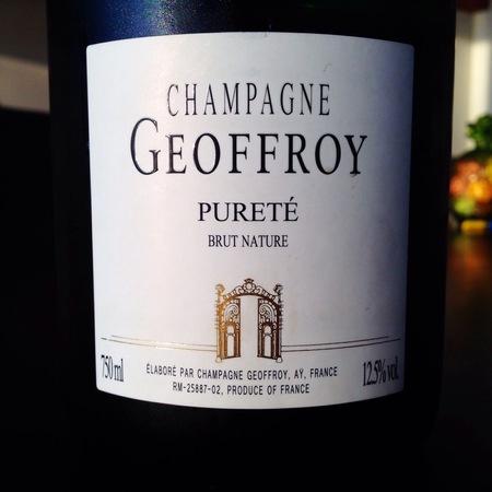 René Geoffroy Pureté Brut Nature Champagne NV