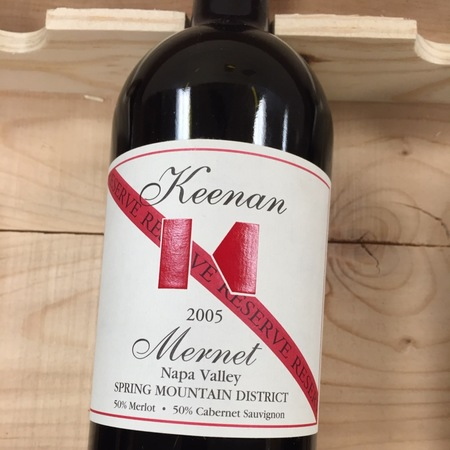 Robert Keenan Winery Mernet Reserve Spring Mountain District Red Blend  2012