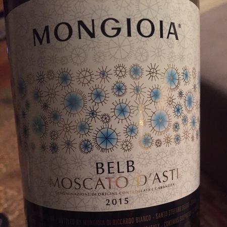 Mongioia Belb Moscato d'Asti 2016