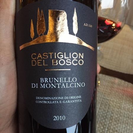 Castiglion del Bosco Brunello di Montalcino Sangiovese 2010