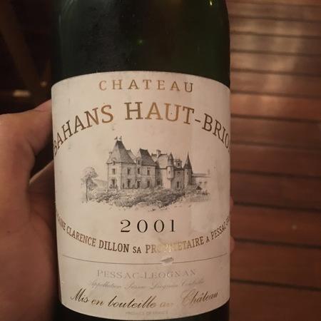 Chateau Bahans Haut-Brion Pessac-Leognan Red Bordeaux Blend 2015 (1500ml)
