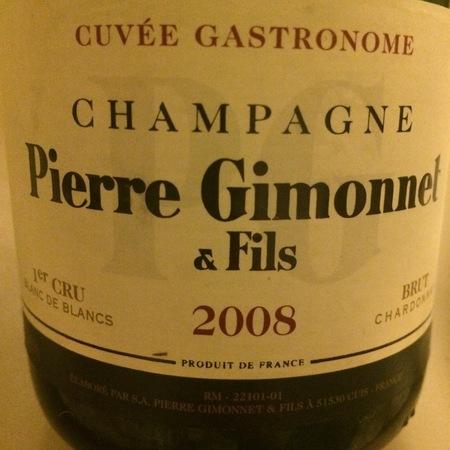 Pierre Gimonnet & Fils Cuvée Fleuron Brut Blanc de Blancs 1er Cru Champagne Chardonnay 2008