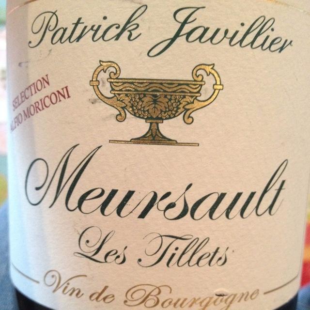 Les Tillets Meursault Chardonnay 2001