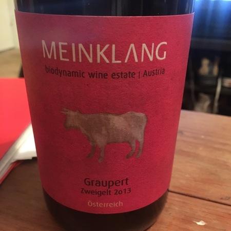 Meinklang Graupert Zweigelt 2013