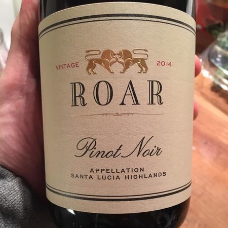 Roar Santa Lucia Highlands Pinot Noir 2014