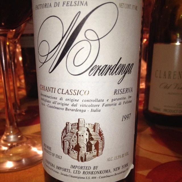 Riserva Chianti Classico Sangiovese 1997 (375ml)