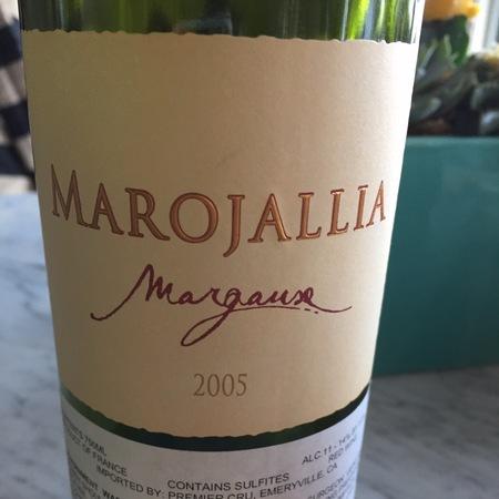 Château Marojallia Margaux Red Bordeaux Blend 2005