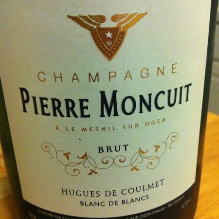 Pierre Moncuit Cuvée Hugues de Coulmet Blanc de Blancs Brut Champagne Chardonnay NV