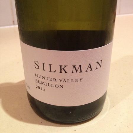 Silkman Hunter Valley Sémillon 2015