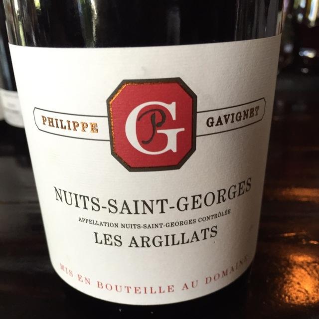 Les Argillats Nuits St. Georges Pinot Noir 2012