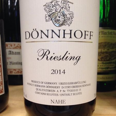Dönnhoff Nahe Riesling 2014