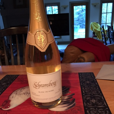 Schramsberg Vineyards Brut Blanc de Noirs North Coast Pinot Noir 2013