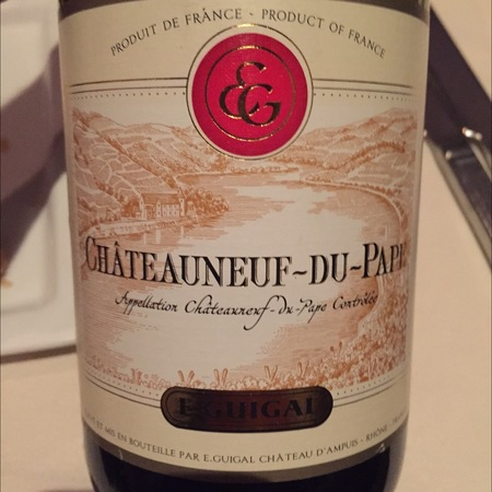 E. Guigal Châteauneuf-du-Pape Red Rhone Blend   2011