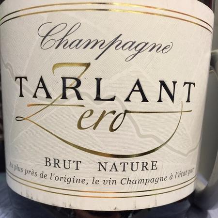 Tarlant Zero Brut Nature Champagne Blend