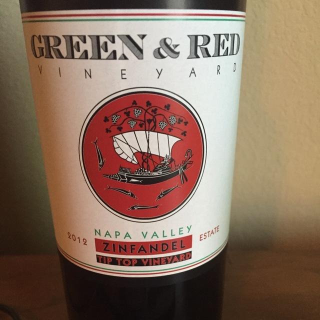Tip Top Vineyard Zinfandel 2012