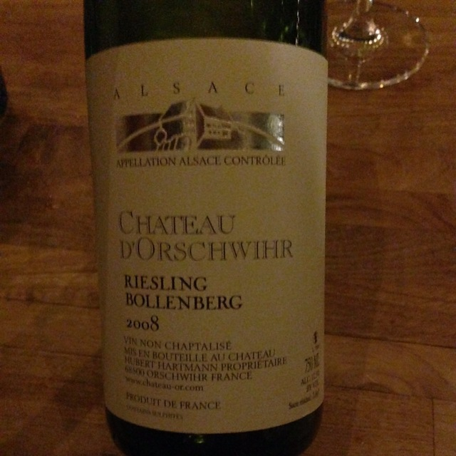 Bollenberg Alsace AOC Riesling 2008