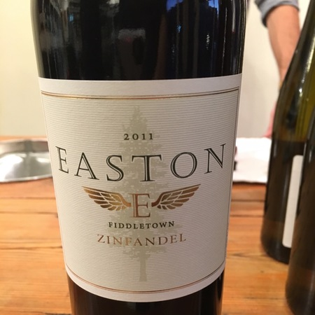 Easton Fiddletown Zinfandel 2011
