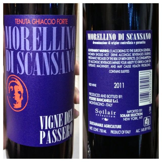 Vigne del Passero Morellino di Scansano Sangiovese Cabernet Sauvignon 2014