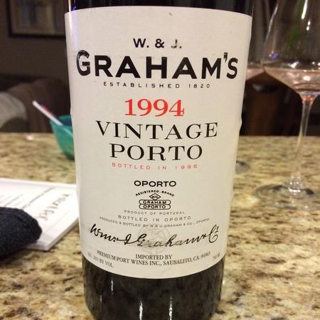 W. & J. Graham's Vintage Port Blend 1994