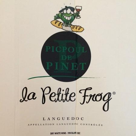 Le Petite Frog Coteaux du Languedoc Picpoul-de-Pinet Picpoul Blanc
