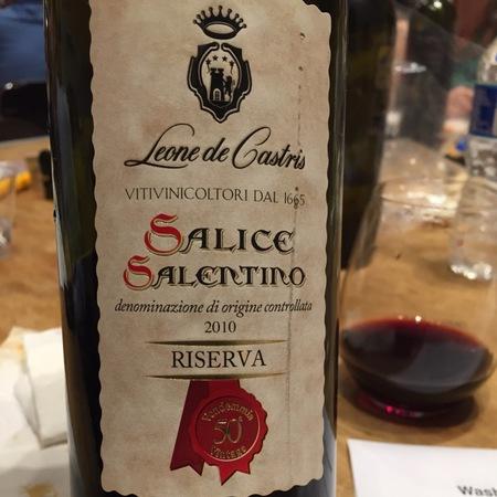 Leone de Castris Riserva Salice Salentino Negroamaro 2013