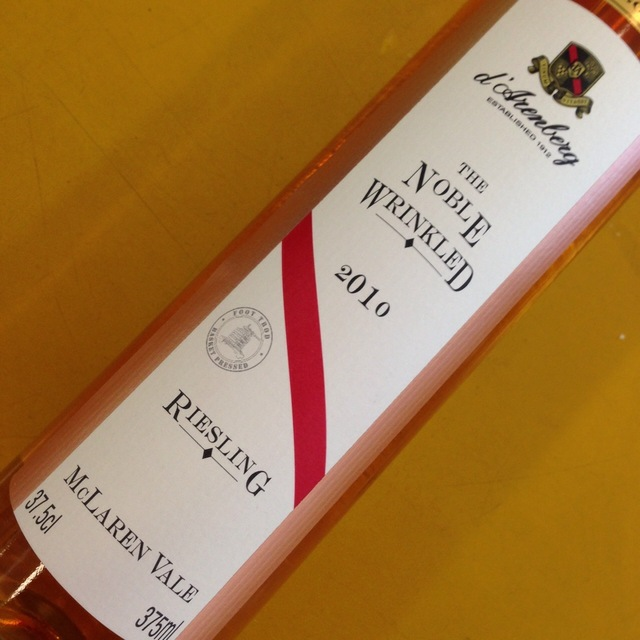 The Noble Wrinkled Riesling  2000