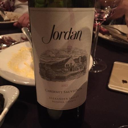 Jordan Vineyard & Winery Alexander Valley Cabernet Sauvignon 2012