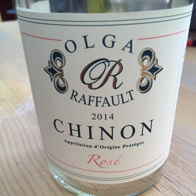 Chinon Cabernet Franc Rosé  2015