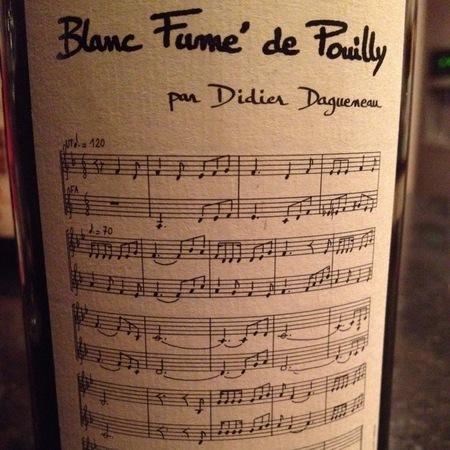 Didier Dagueneau Pouilly-Fumé Sauvignon Blanc 2014