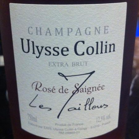 Ulysse Collin Les Maillons Rosé de Saignee Extra Brut Champagne Pinot Noir NV