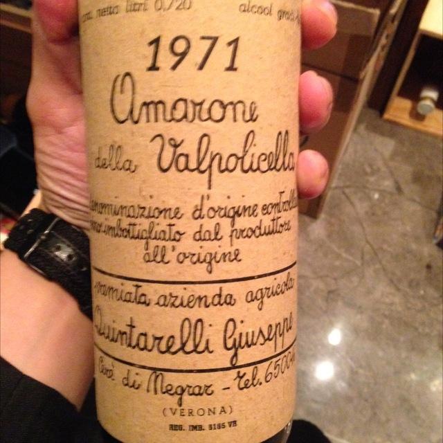 Amarone della Valpolicella Corvina Blend 2000