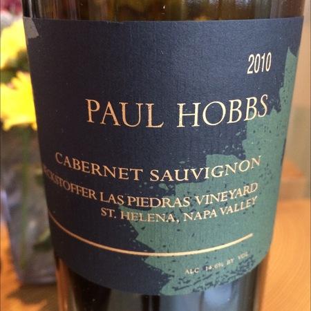 Paul Hobbs Beckstoffer Las Piedras Vineyard Cabernet Sauvignon 2013
