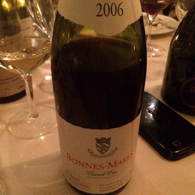 Bonnes-Mares Grand Cru Pinot Noir 2001