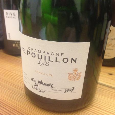 R. Pouillon & Fils Les Valnons Extra Brut Grand Cru Champagne Blend 2007