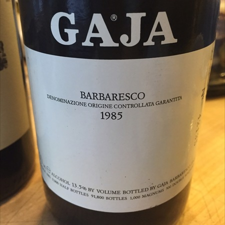 Gaja Barbaresco Nebbiolo 1985 (3000ml)