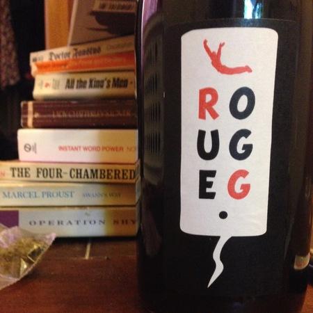 Domaine Le Sot De L'ange Rouge G Grolleau Noir Gamay 2015