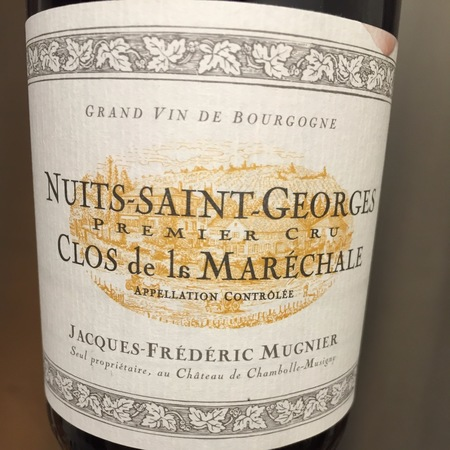 Jacques-Frédéric Mugnier Clos de la Maréchale Nuits-Saint-Georges 1er Cru Pinot Noir 2013