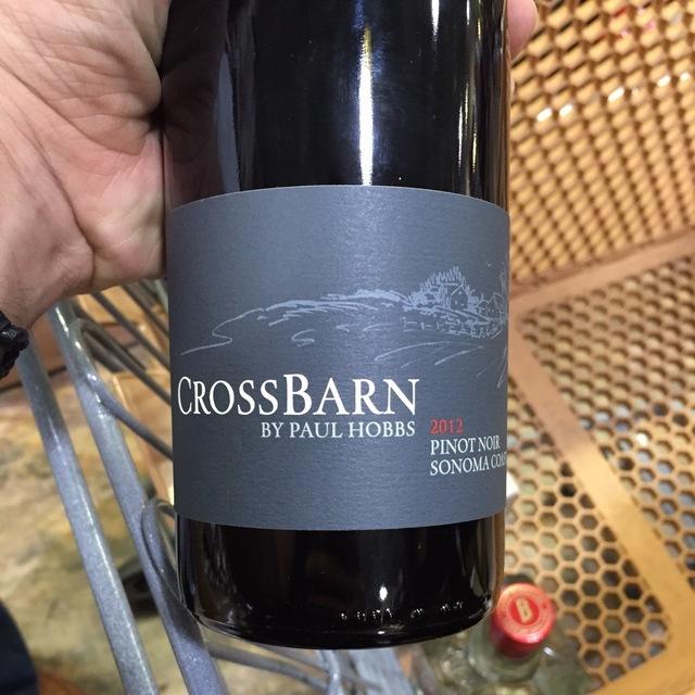 CrossBarn Sonoma Coast Pinot Noir  2013